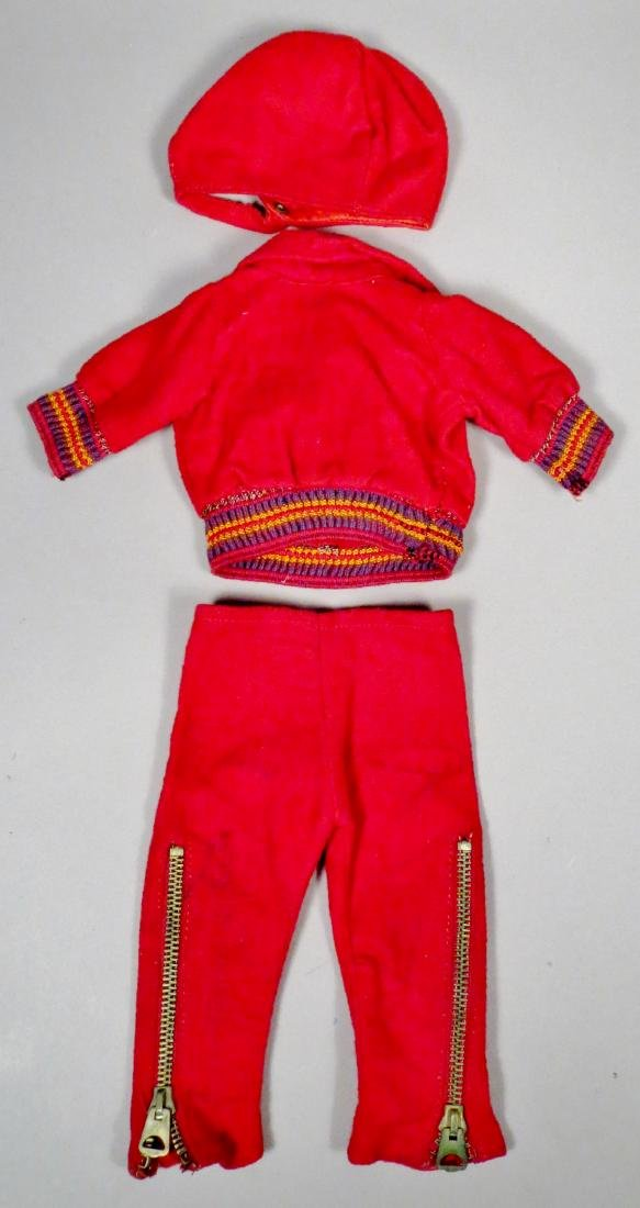 c1930 Doll Clothes, Winter Outfit - 2