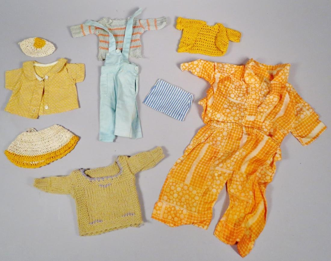Vintage Doll Clothes Lot, Sweaters and More