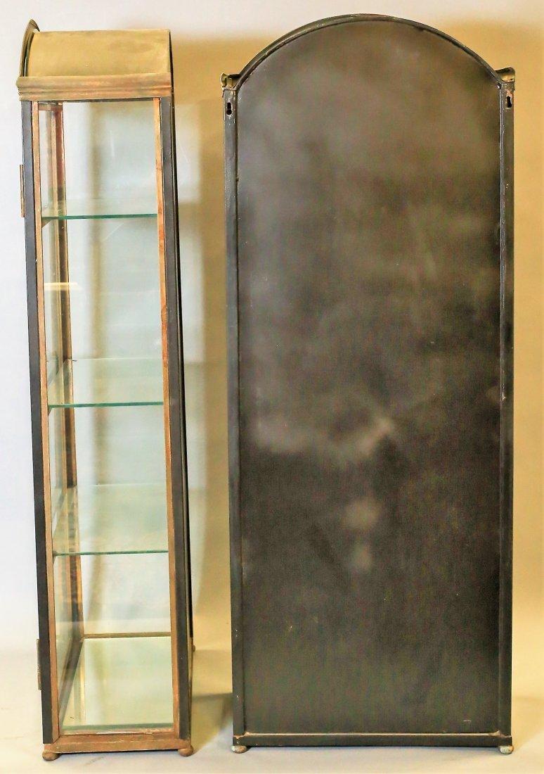Pair Of Vintage Italian Hanging Vitrines Display Cases - 3