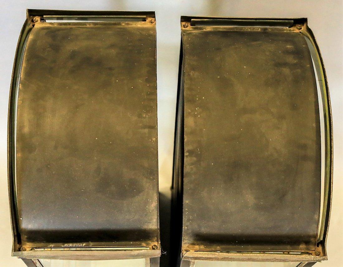 Pair Of Vintage Italian Hanging Vitrines Display Cases - 4