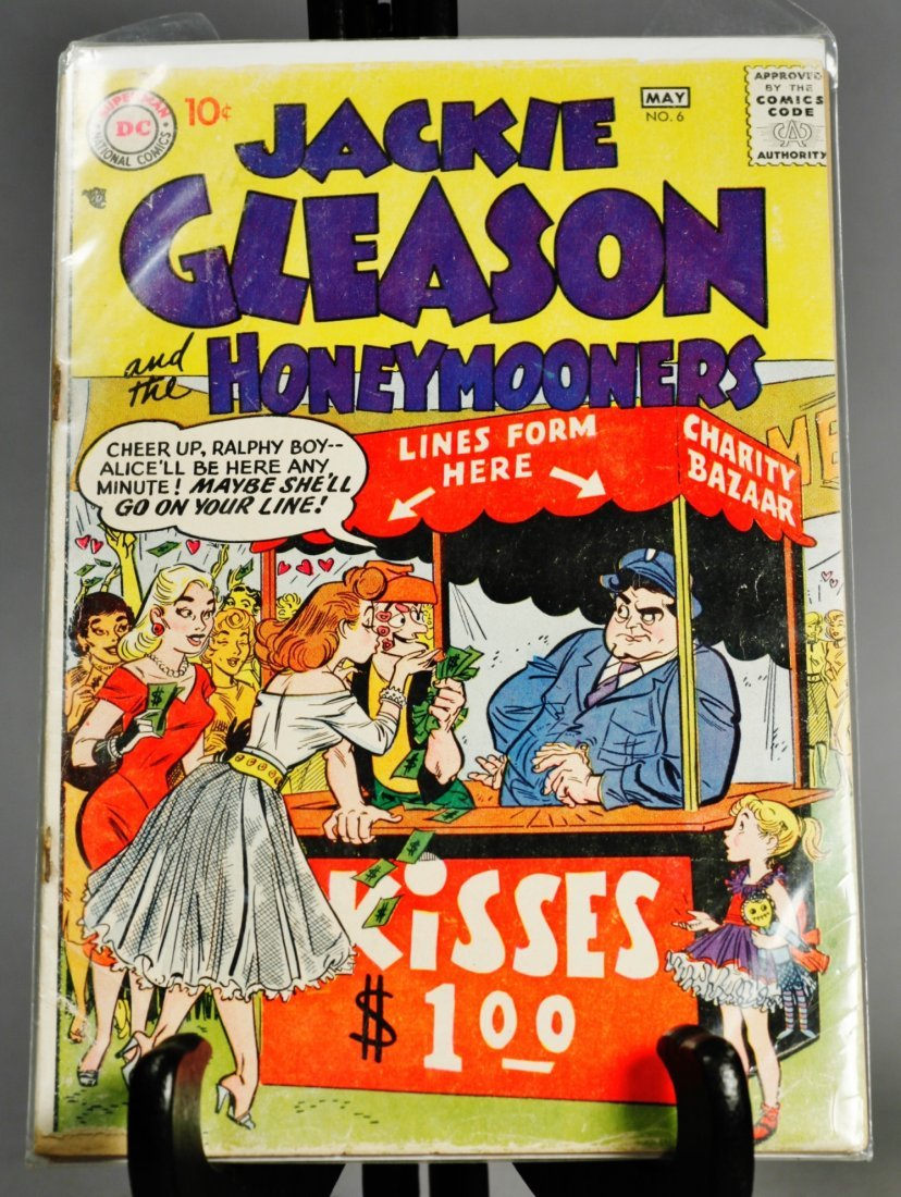 Jackie Gleason And The Honeymooners #6 April-May 1957
