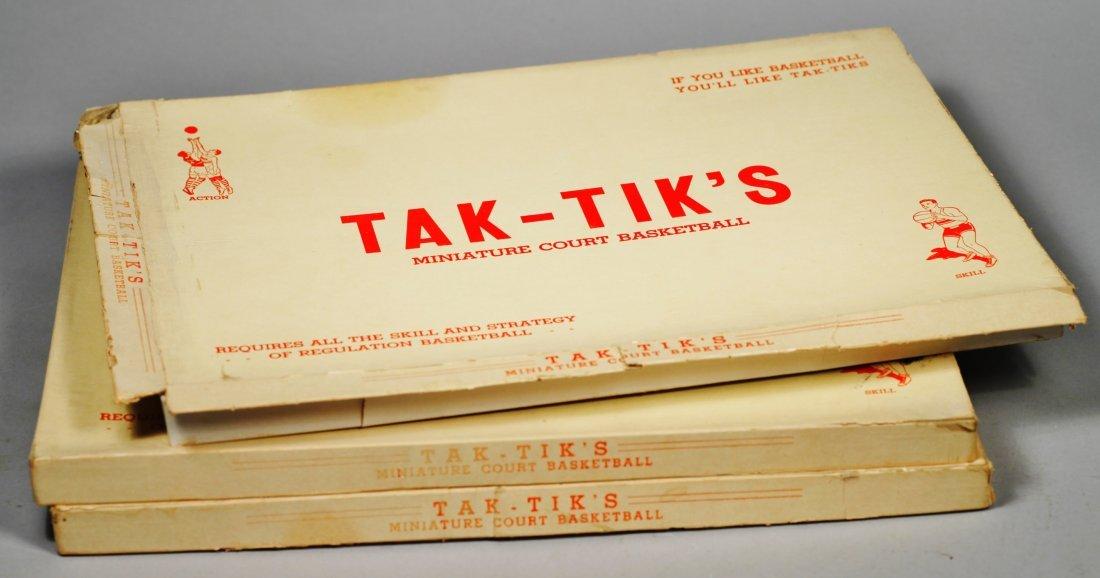 1920-30's Board Game Tak-Tik Lot of 3