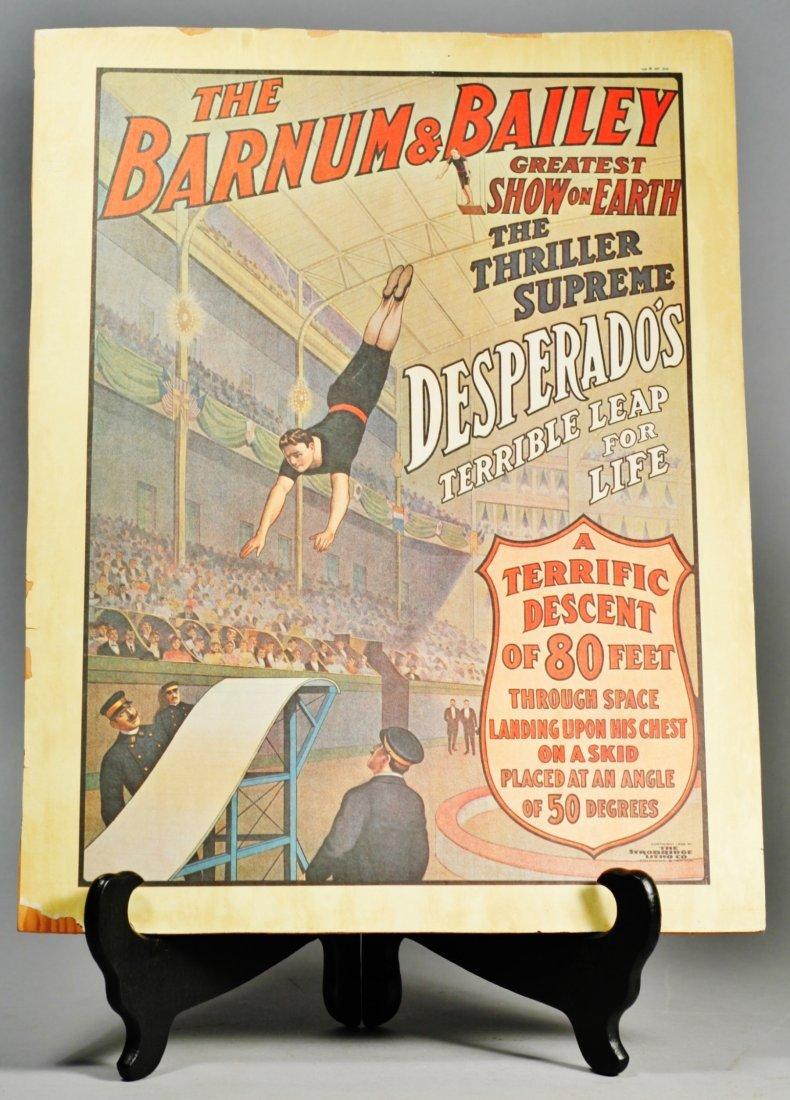 Barnum and Bailey Poster, Desperado