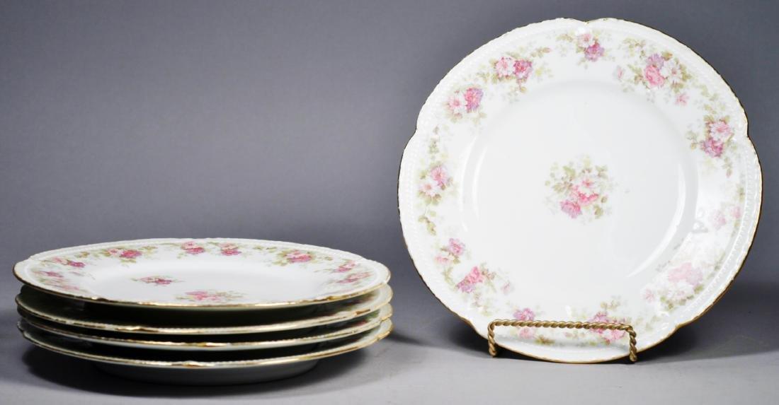 Antique Limoges Plates L.S.&S plate set.