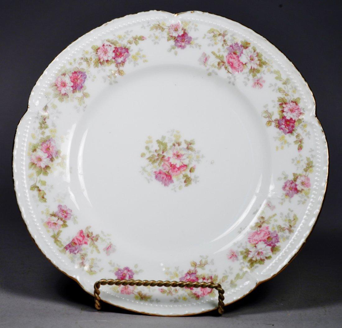 Antique Limoges Plates L.S.&S plate set. - 2