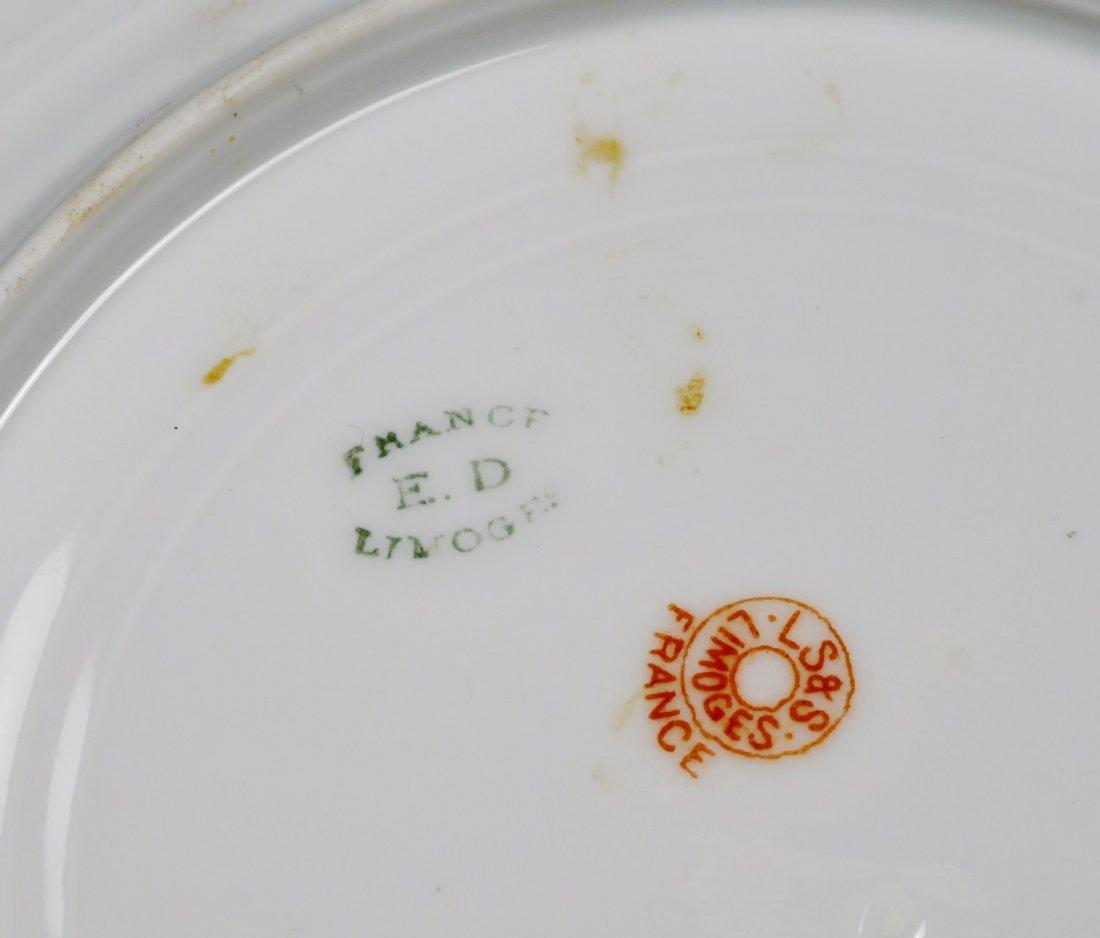 Antique Limoges Plates L.S.&S plate set. - 4