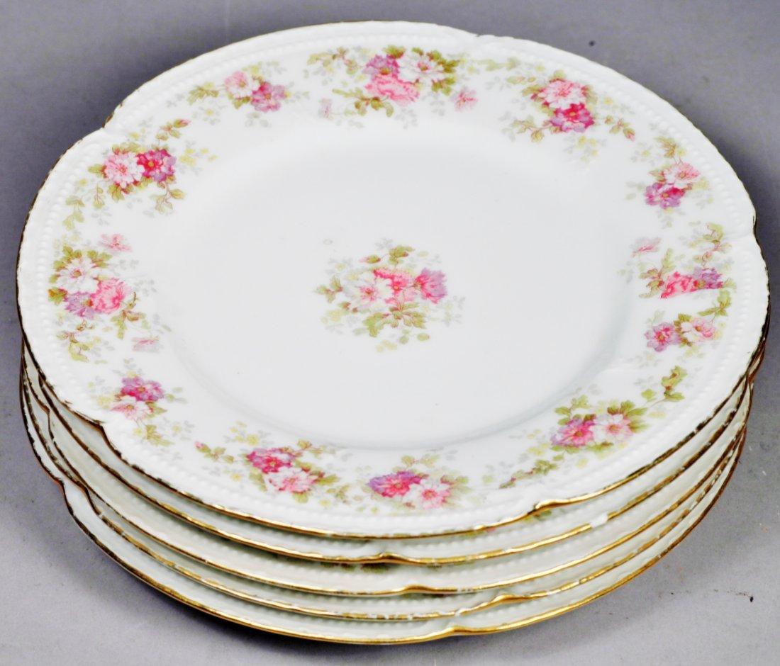 Antique Limoges Plates L.S.&S plate set. - 6