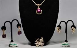 Mixed Costume Jewelry Lot