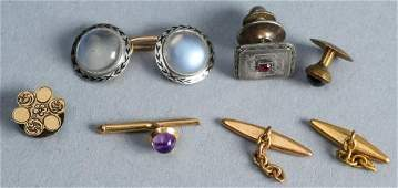 Antique Pair 14K Gold Cufflinks