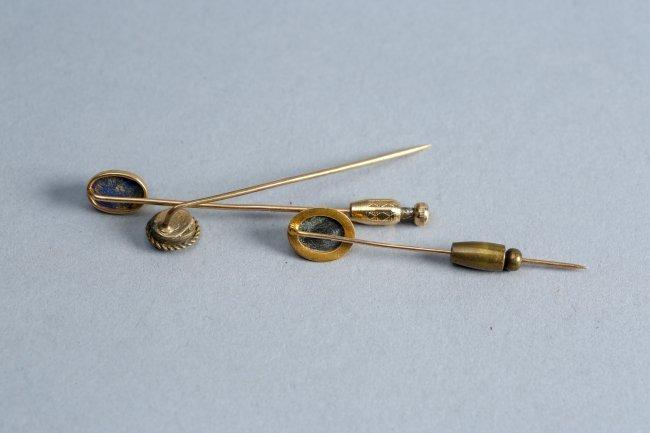 14 K Gold Stickpin Lot - 2