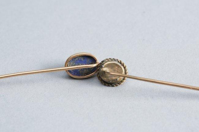 14 K Gold Stickpin Lot - 3