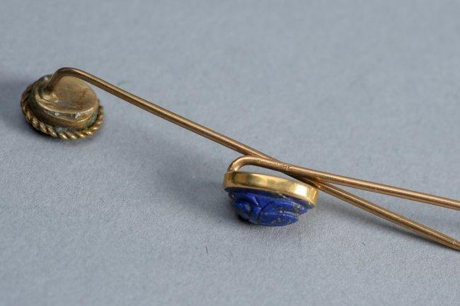 14 K Gold Stickpin Lot - 4