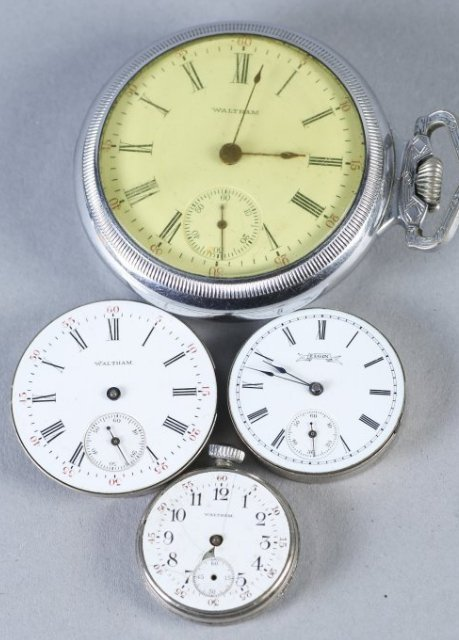 Vintage Waltham Pocket Watch/Waltham,Elgin Parts