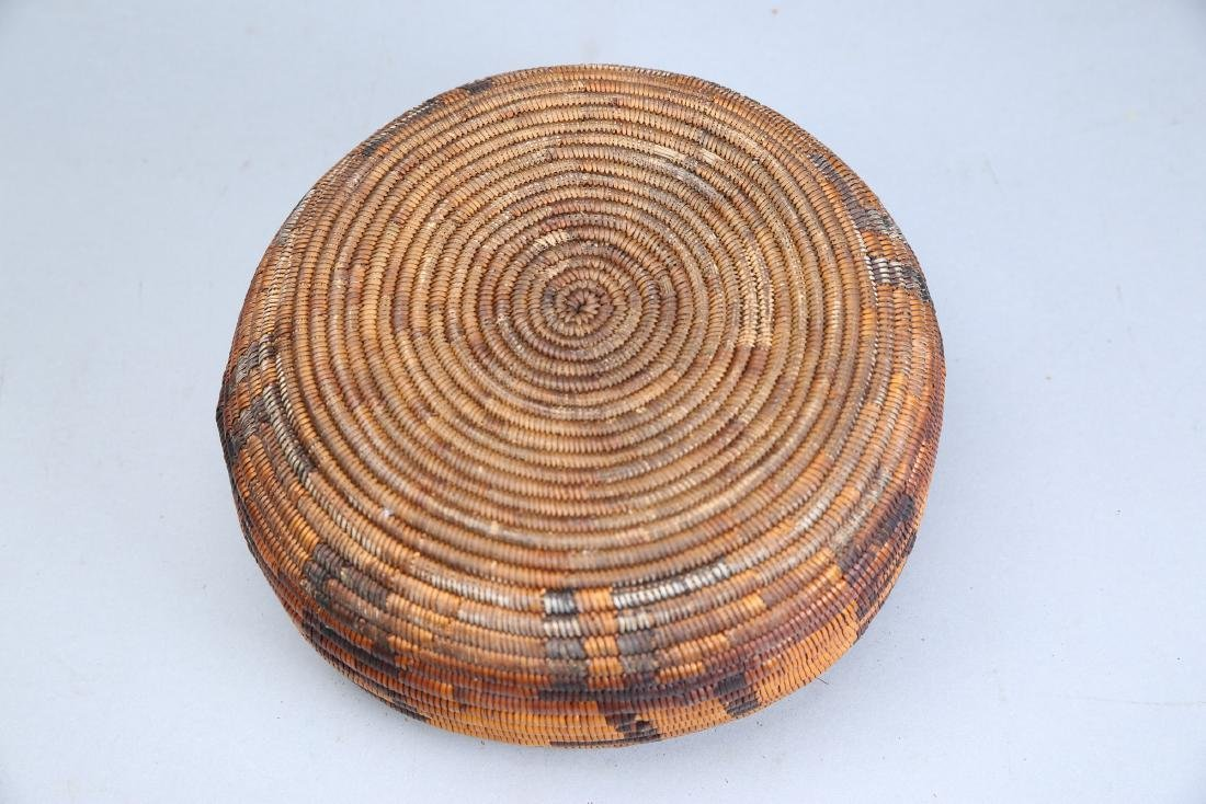 Antique Apache Basket - 6