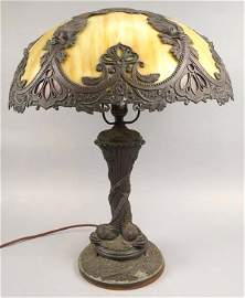 Salem Bros Dolphin Figural Lamp