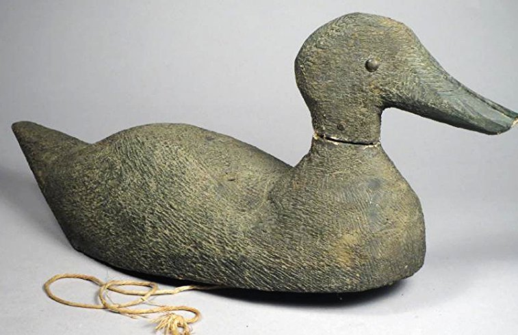 Antique Hand Carved Duck Decoy