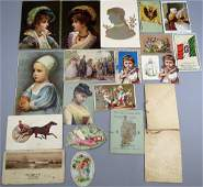 Order of dance cards trade cards Victorian 21