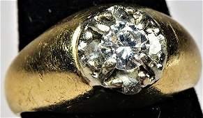 Gorgeous Vintage 14K Diamond Ring
