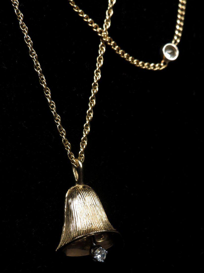 Delicate 14K Gold & Diamond Necklaces