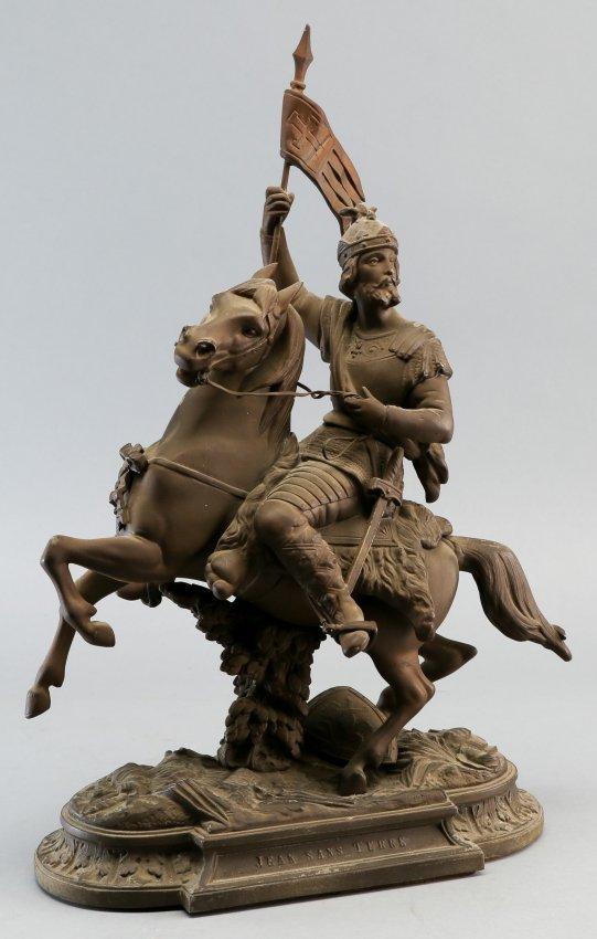 Antique Victorian Statue King