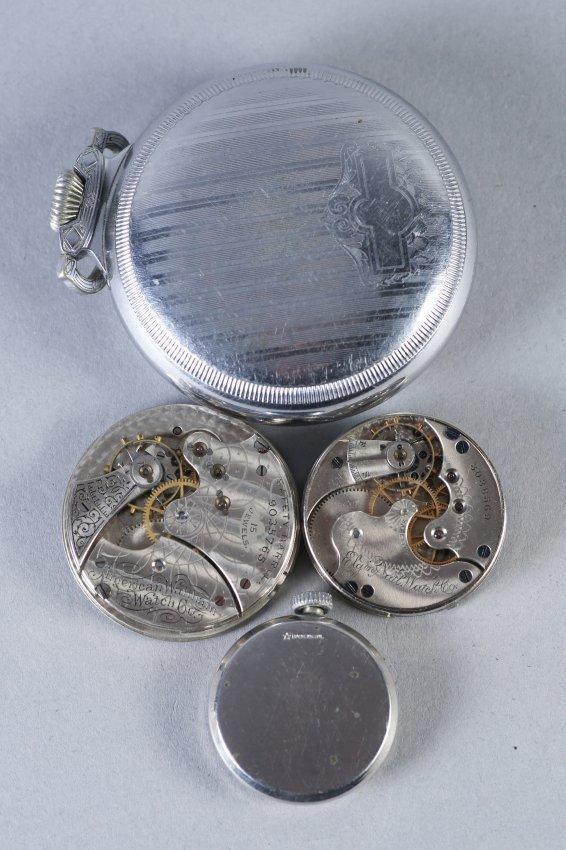 Vintage Waltham Pocket Watch/Waltham,Elgin Parts - 2