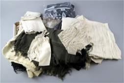Lot of vintage Textiles, Mixed Lot