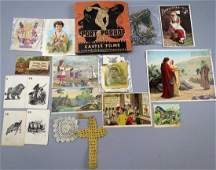 Victorian Trade Card, Misc Ephemera & More