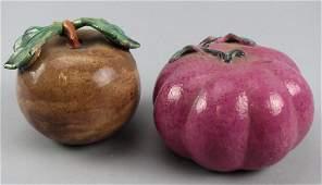 Antique Ceramic Altar Fruit Chinese