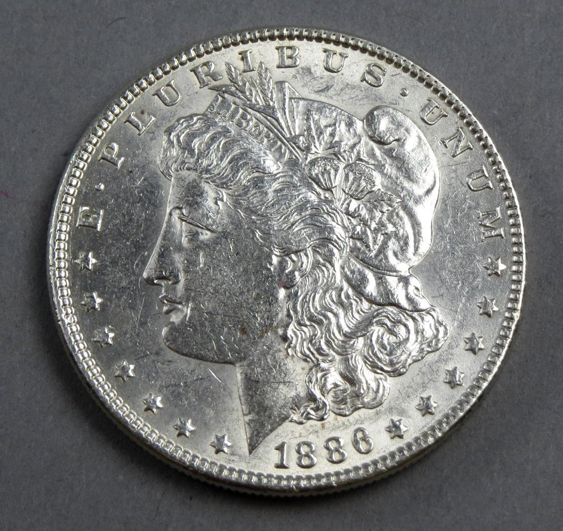 Roll 1886 P Morgans 20 Silver - 3