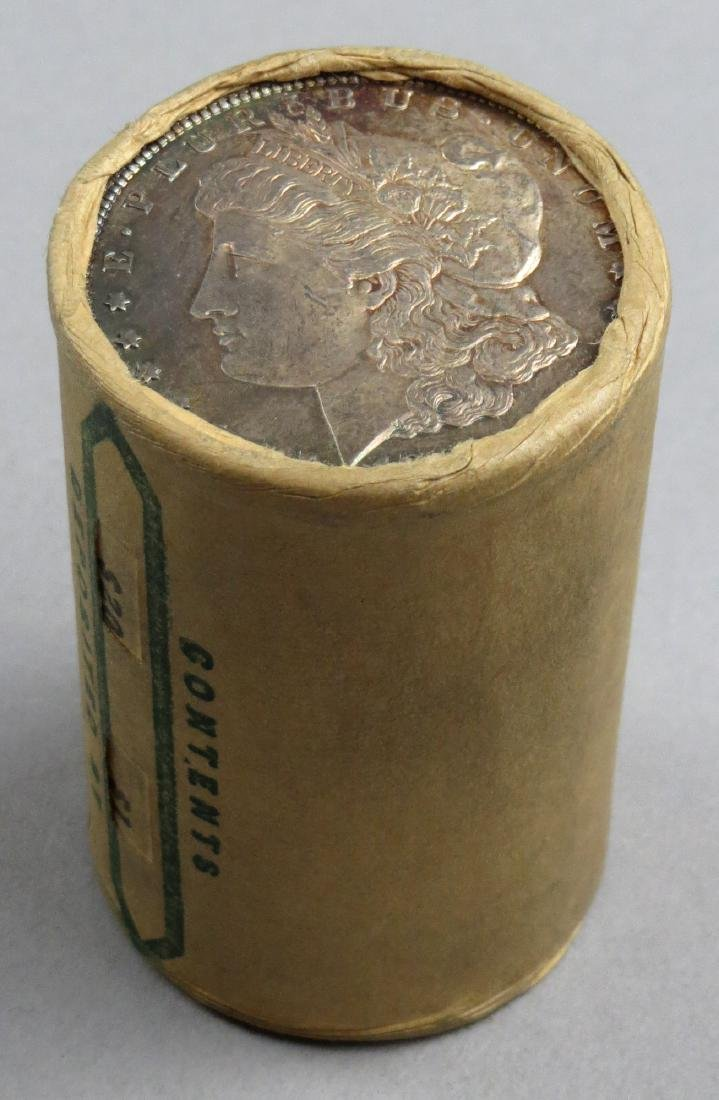 Original UNOPENED UNSEARCHED $20 Roll End 1880 Morgan