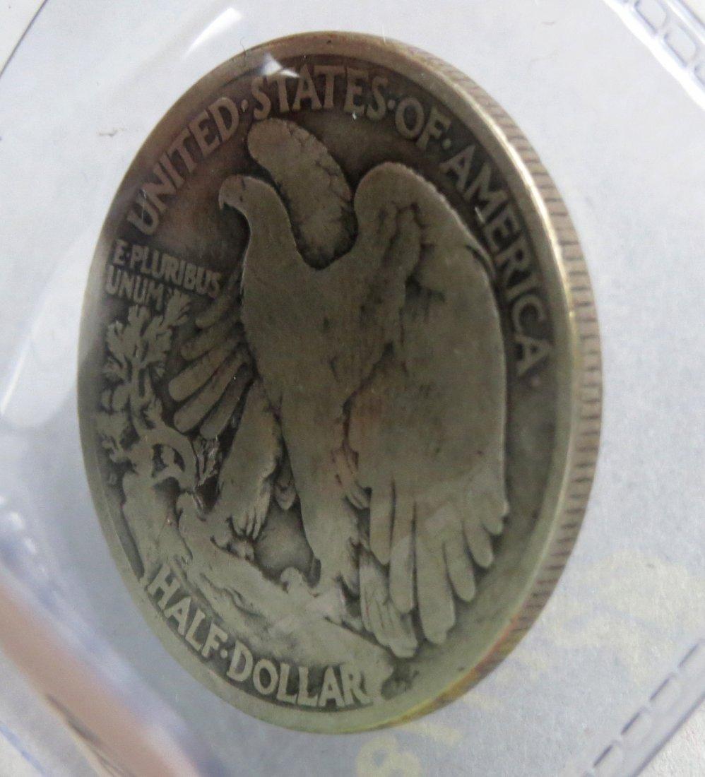 1921 D Walking Liberty Half Dollar - 4