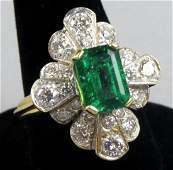 GIA Report Fine 2.40ct Nat. Green Emerald