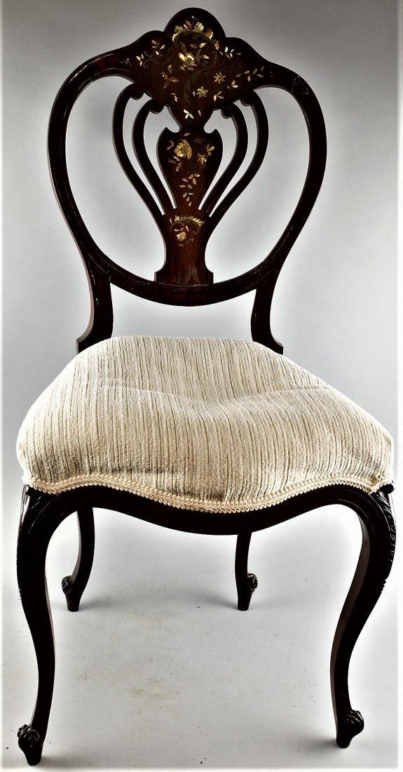 Antique 1900 Art Nouveau Side Chair