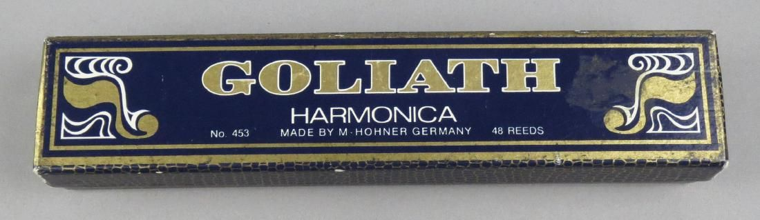 Vintage Goliath M. Hohner Harmonica