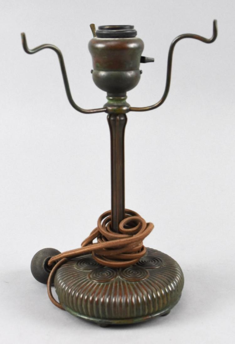 Tiffany Studio Lamp Base 257 Signed
