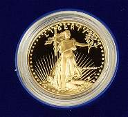 $50 Gold American Eagle coin 1 oz Gold.