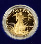 $50 Gold American Eagle coin