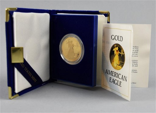 1986 $50 Gold American Eagle Coin 1oz