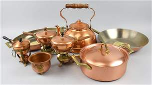 Lot of Copper Kitchen Items Revere