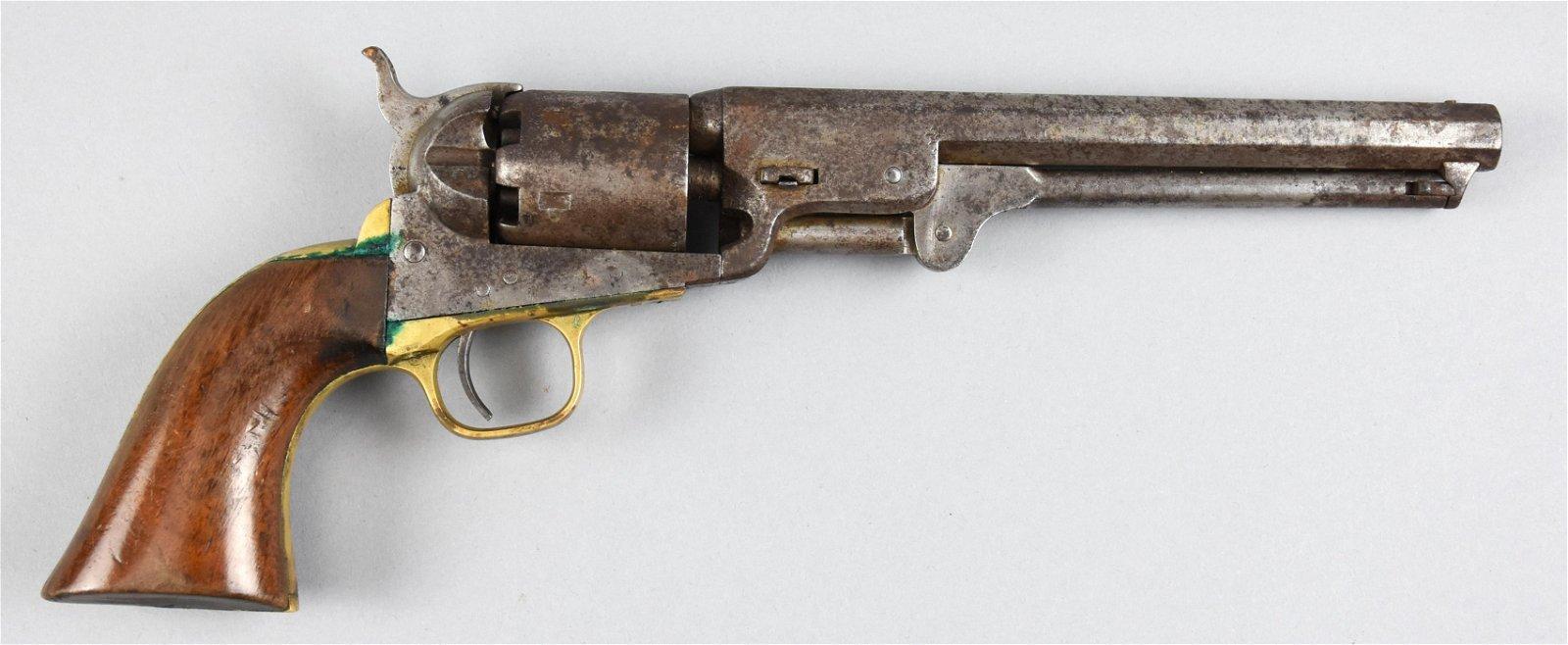 1860 Colt Army Revolver Diagram This 44 Caliber Percussion Revolver