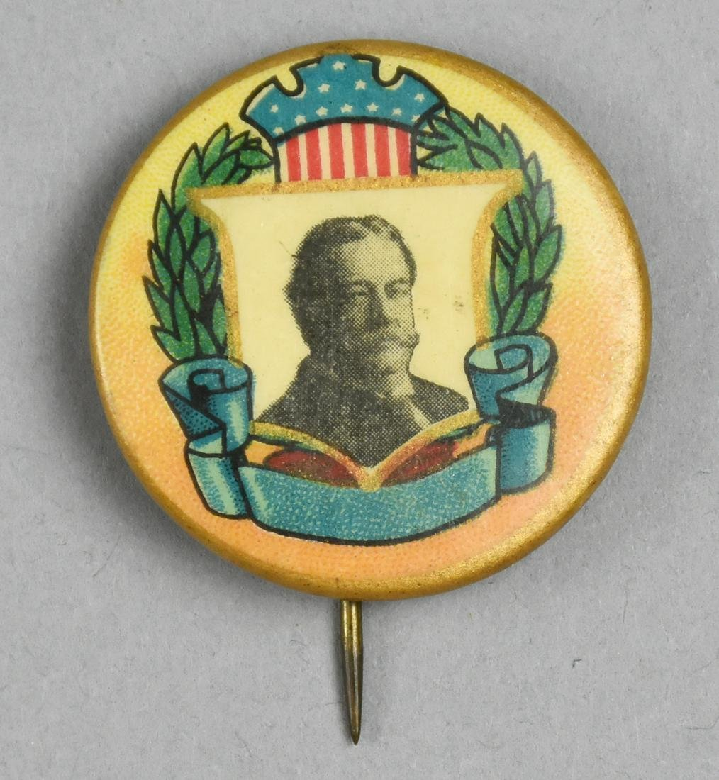 1908 President Taft Political Campaign Button Pin