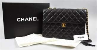Chanel Matelasse Lambskin Quilted Shoulder Bag