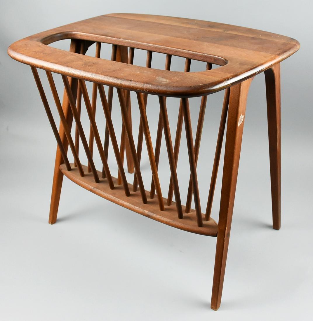 Mid Century Arthur Umanoff Magazine Table/Rack