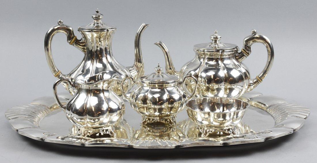 Mexican Sterling Sanborns 6 pc Tea Set
