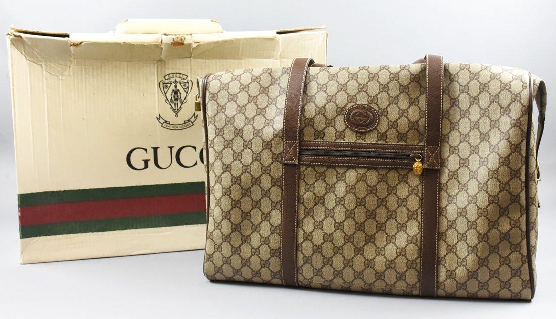 Vintage GUCCI Weekender Monogram Bag
