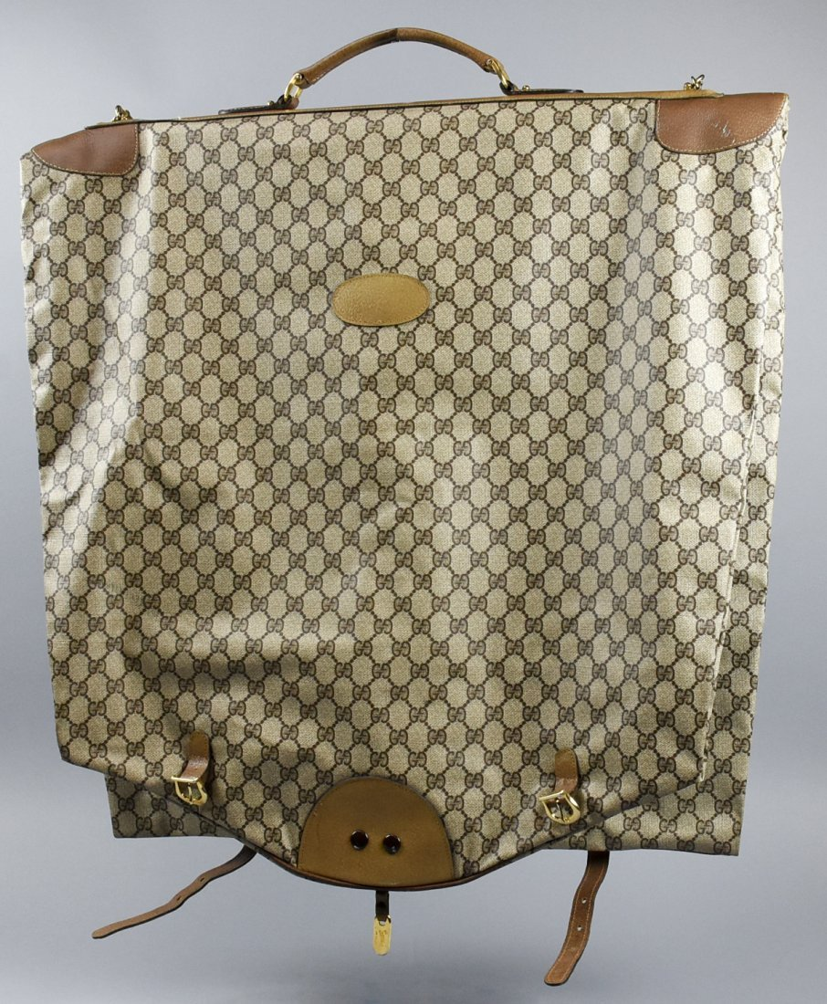 Vintage Monogram GUCCI Garment Bag