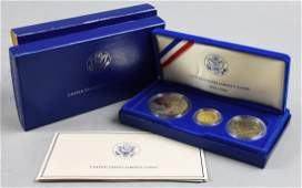 1986 Liberty Gold and Silver Coin Set