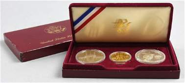 19841983 United States Olympic Gold and Silver Proof C