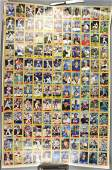 3 Large Sheet Uncut 1987 Topps Baseball Cards