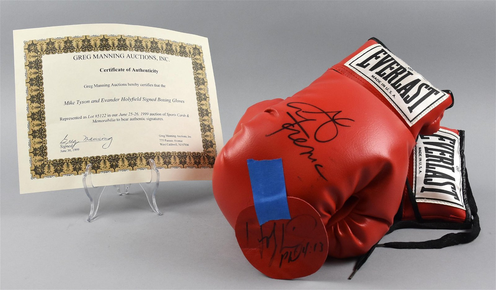 Signed George Foreman Boxing Glove
